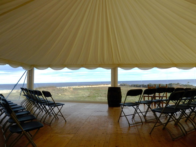 Wedding - Marquee View