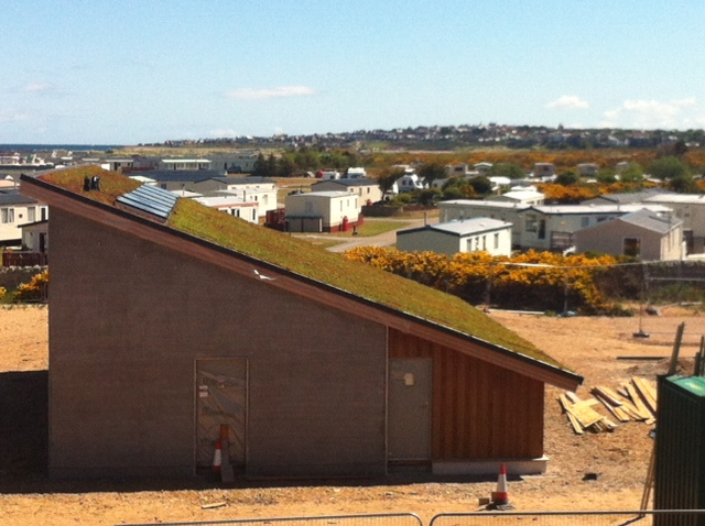 Covesea LIghthouse Lossiemouth New RNAS and RAF Centre Development