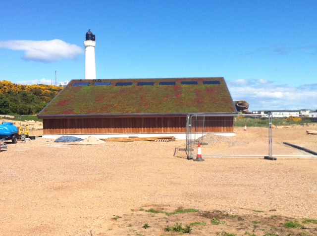 New RNAS & RAF Centre at Covesea Lighthouse New RAF & FLEET AIR ARM (FAA) HERITAGE CENTRE Lossiemouth Moray Lossiemouth