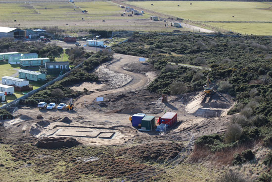 Covesea Lighthouse Visitor Attraction Lossiemouth new development at the steading