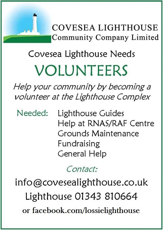 Volunteer at Covesea Lighthouse